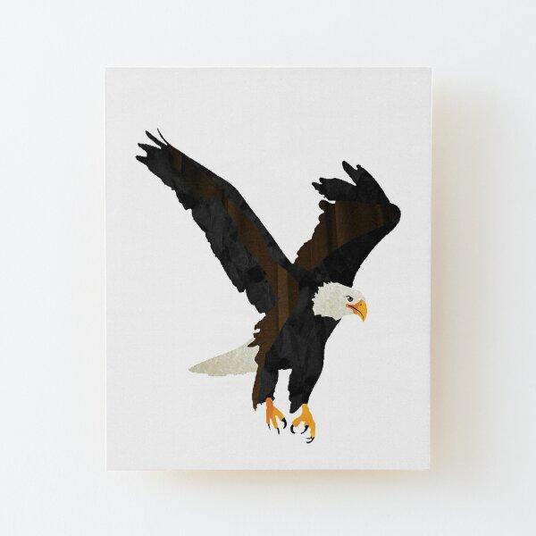 Eagle - Laudea Martin Wood Mounted Print