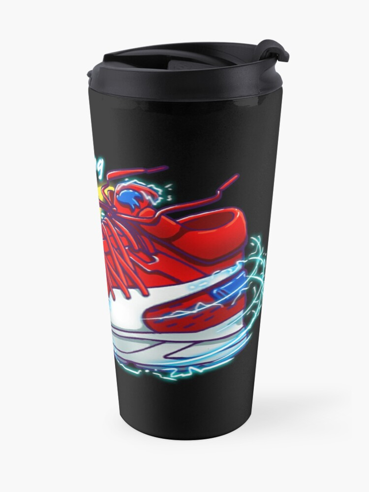 Alternate view of Lightning Fast Sneaker Travel Mug