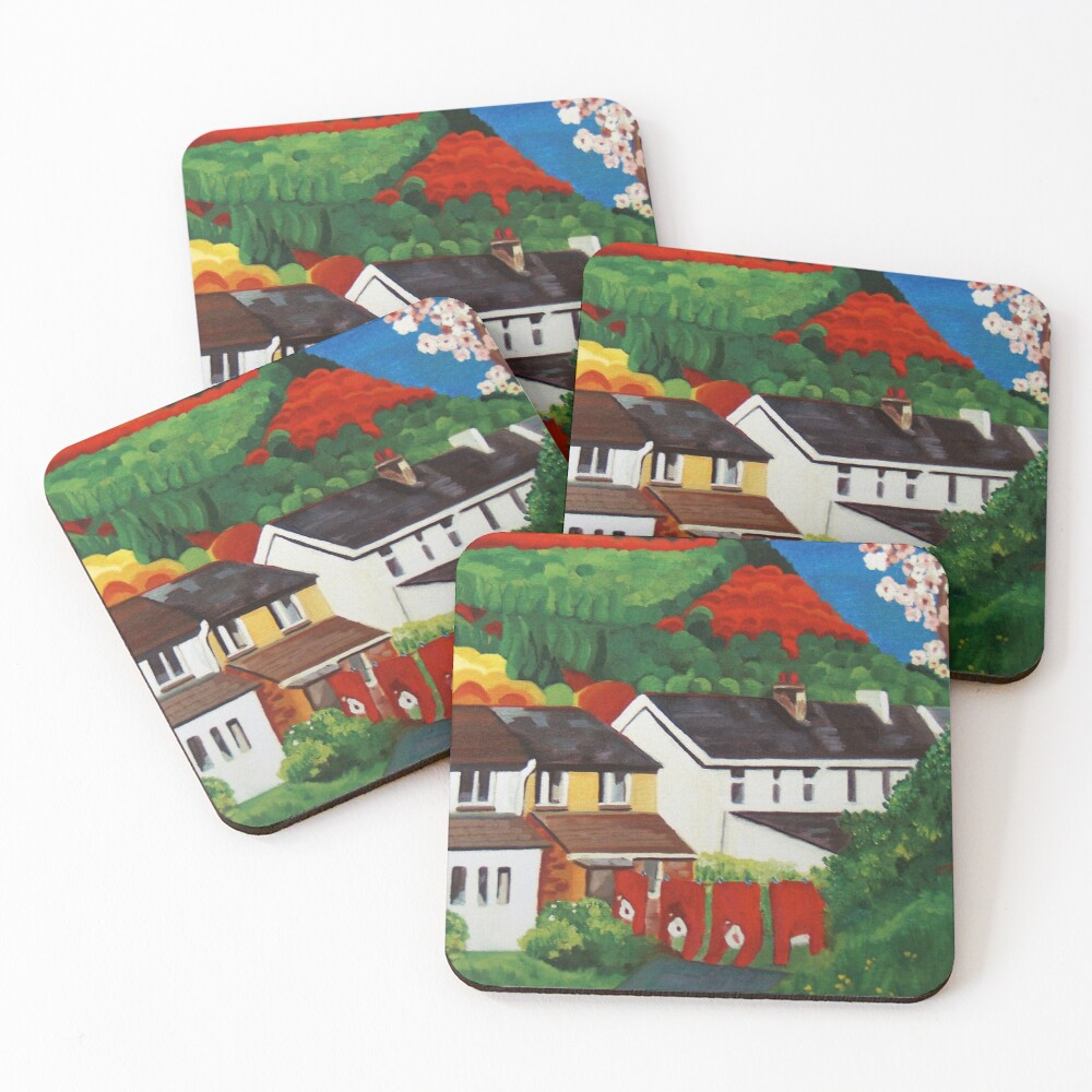 After the match Coasters (Set of 4)