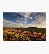 Dartmoor from Lowman Photographic Print