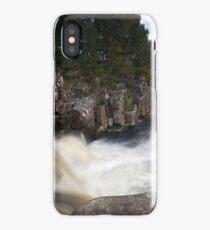 Black Water Falls iPhone Case