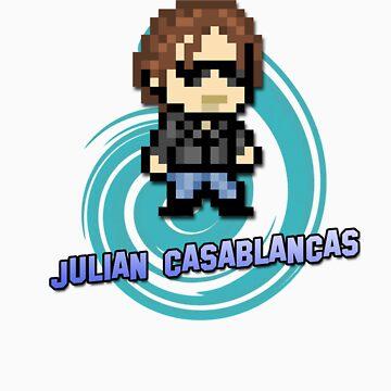 IndieRockGames | Julian Casablancas 8bits by Bitlandia