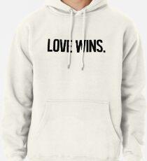 LOVE WINS. Pullover Hoodie