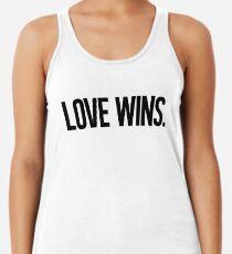 LOVE WINS. Racerback Tank Top