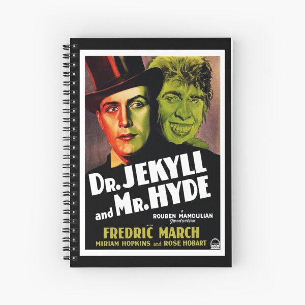 Dr Jekyll And Mr Hyde (1931) 1 Spiral Notebook