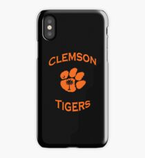 Clemson Tiger iPhone Cover iPhone Case/Skin
