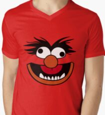 Animal Muppet (Crazy) Men's V-Neck T-Shirt