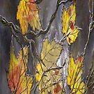 iPhone Case of painting.. Stephanies Autumn.... by linmarie