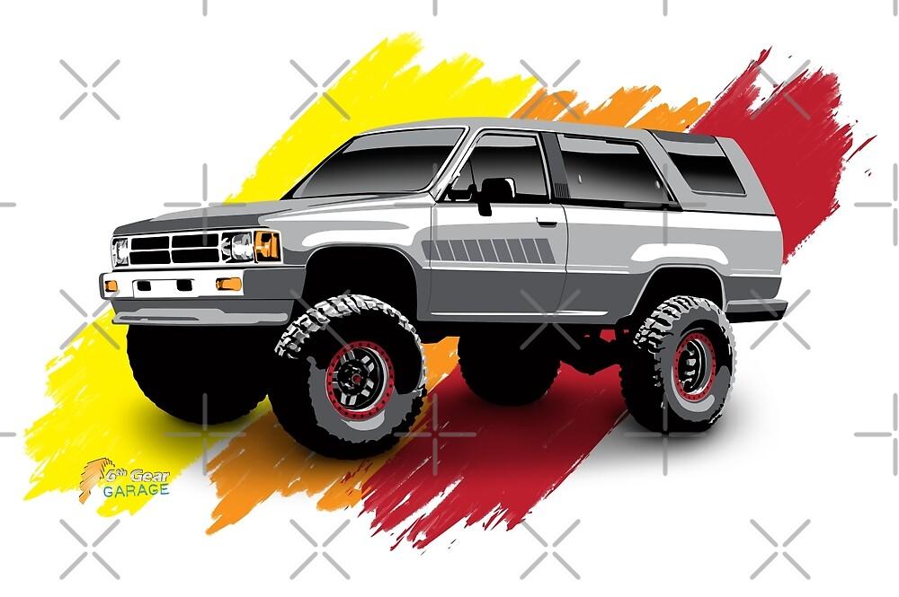 Toyota 4Runner 1985 by 6thGear