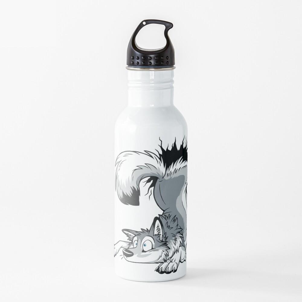 UN-STUCK Grey Husky Water Bottle