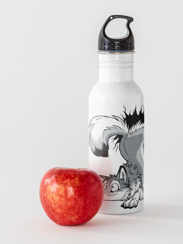 Alternate view of UN-STUCK Grey Husky Water Bottle
