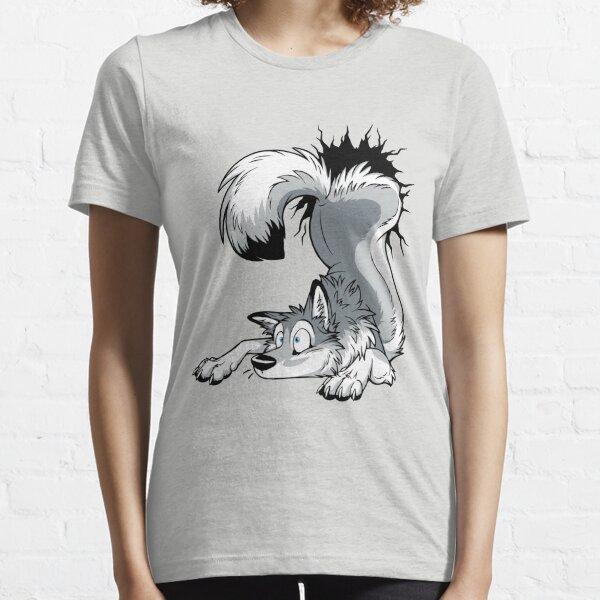 UN-STUCK Grey Husky Essential T-Shirt