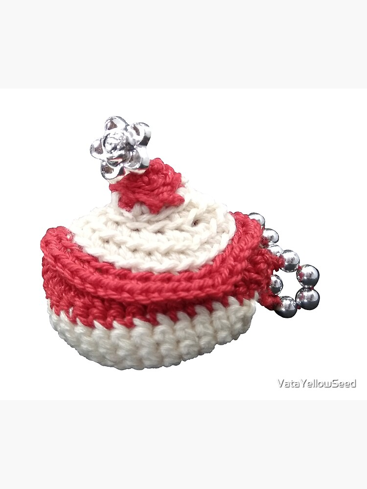 «Création en crochet, mini panière à perles, Vata» par VataYellowSeed