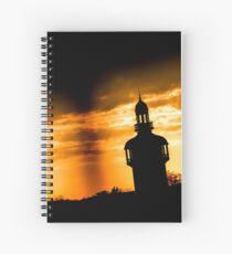 Alternate Carillon Sunset Spiral Notebook