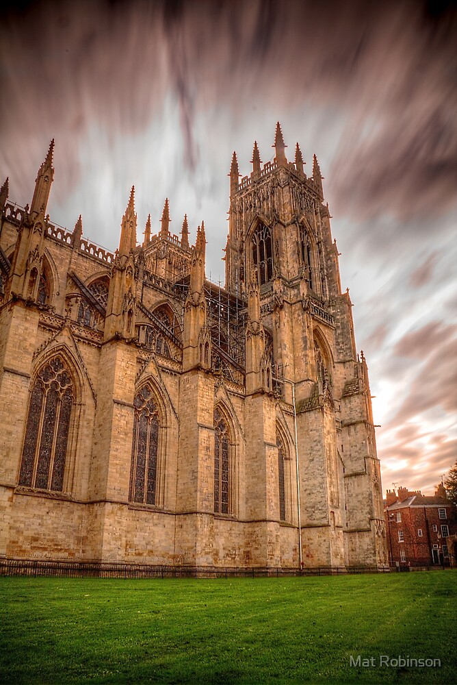 York Minster Sky by Mat Robinson