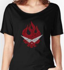 Gurren Lagann typography Women's Relaxed Fit T-Shirt
