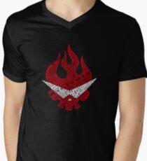 Gurren Lagann typography Men's V-Neck T-Shirt
