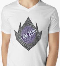 Code GEASS Typography Men's V-Neck T-Shirt