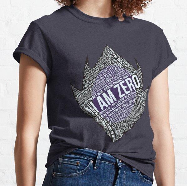 Typographie Code GEASS T-shirt classique