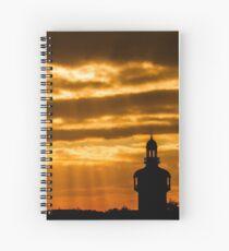 Carillon Sunset Spiral Notebook