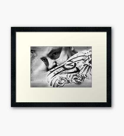 Holding On To The Thought Of You Framed Print