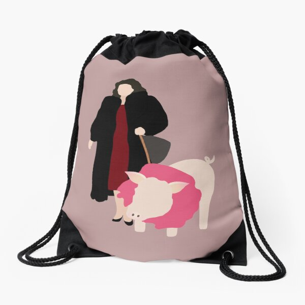 Suzanne Sugarbaker and Noel Drawstring Bag