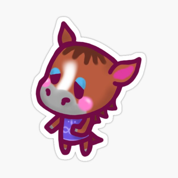 Elmer Animal Crossing Chibi Sticker
