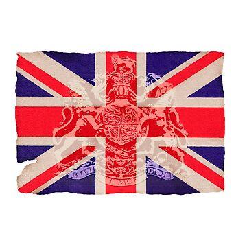 Union jack british flag by Kerto