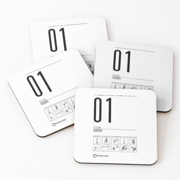 Level 01 Coasters (Set of 4)