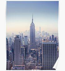 Das Empire State Building Poster