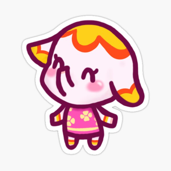 Margie Animal Crossing Chibi Sticker
