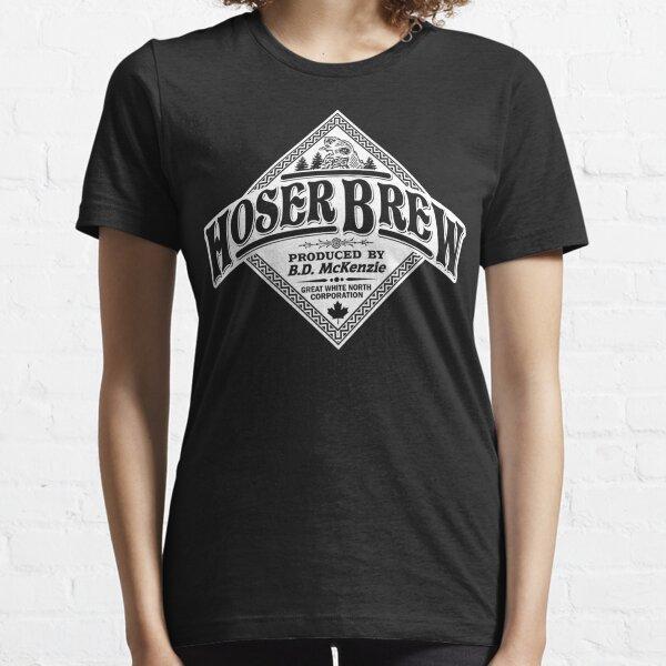 HOSER BREW - WHITE LABEL Essential T-Shirt