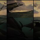Natural History 001 Triptych by MontiFoxPhoto