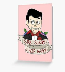 Stay Slappy Greeting Card