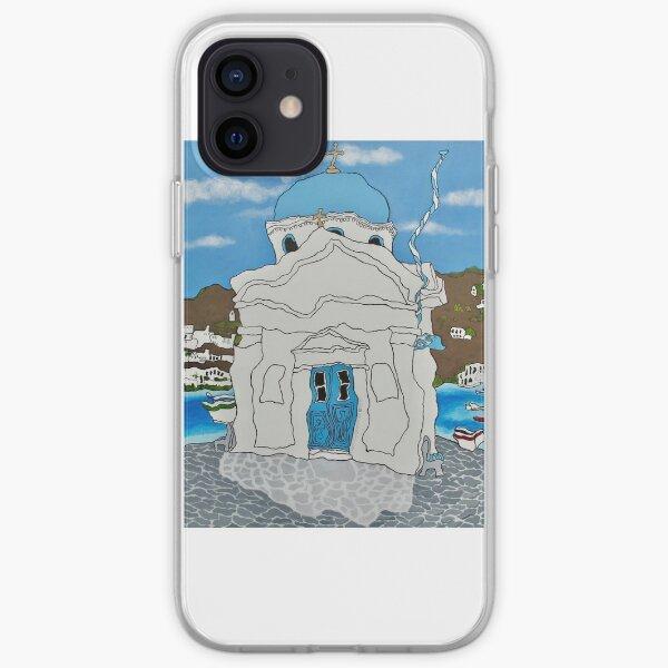 Mykonos Church iPhone Soft Case