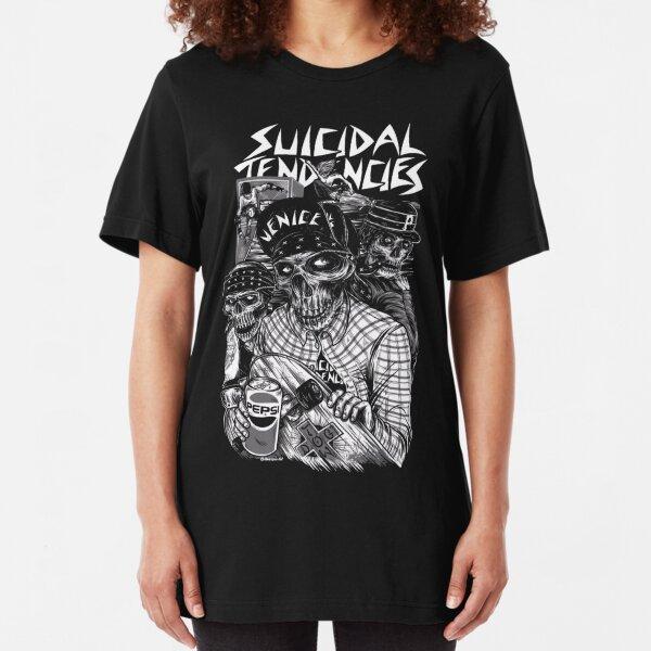 Red-Grey Suicidal Baseball Shirt Toxico Clothing