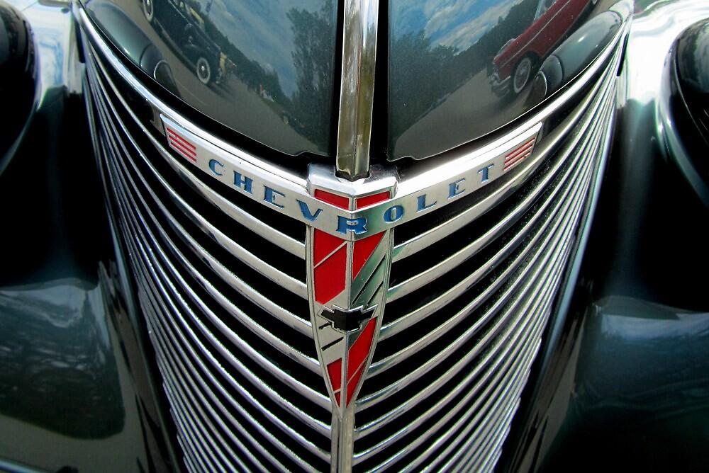 Classic Chevrolet Bling by Debbie Robbins