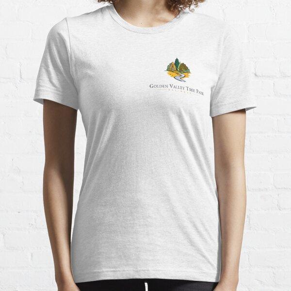 Golden Valley Tree Park - T Shirt - Small Logo  Essential T-Shirt