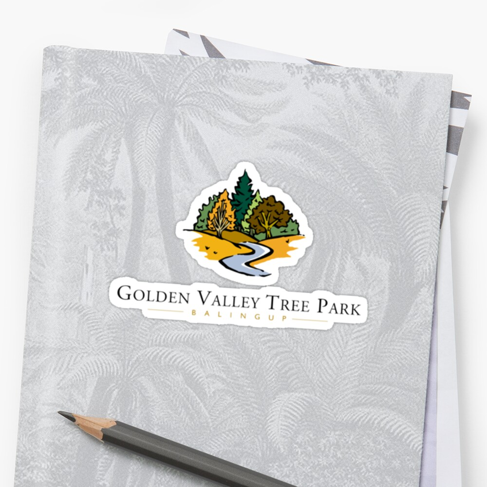 Golden Valley Tree Park - T Shirt - Small Logo  by Golden Valley Tree Park