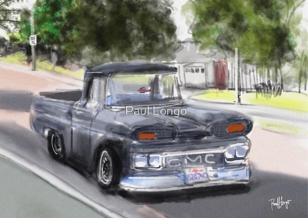 Old GMC Pickup Truck...1961? on El Portal by Paul Longo