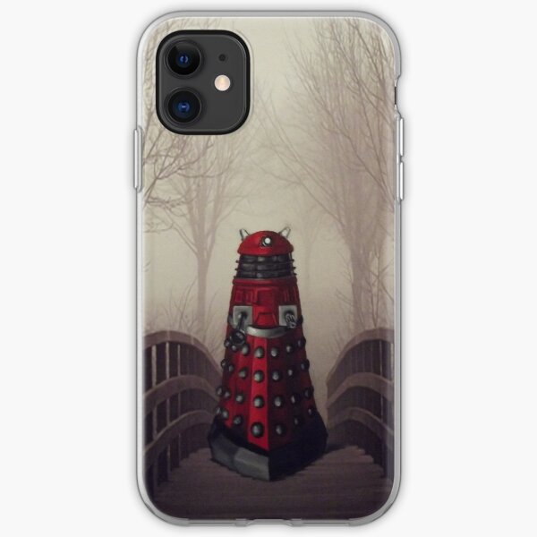 Dalek's Promenade Altered Art Doctor Who iPhone Soft Case