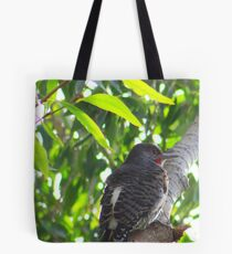Male Red-shafted Flicker Tote Bag