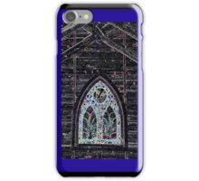 Church Window with Digital Effects iPhone Case iPhone Case/Skin