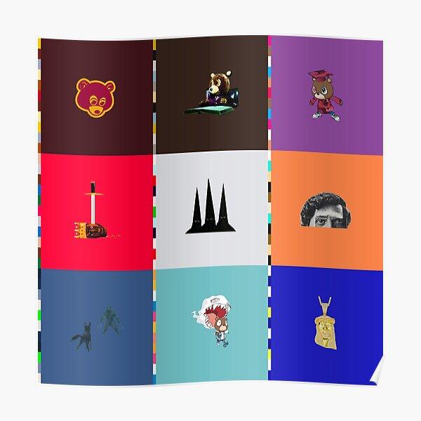 kanye west albums Poster