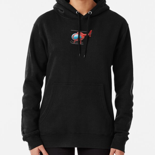 TikTok Helicopter Pullover Hoodie