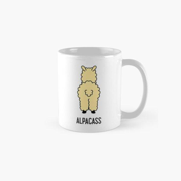 2-Sided Kiss My Alpacass - Funny Alpaca Llama  Classic Mug