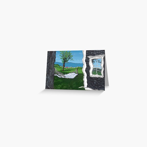 Paradise Revisited Greeting Card