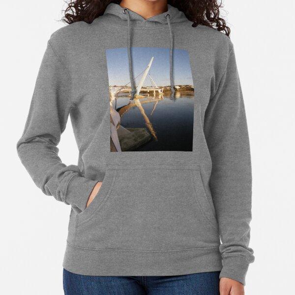 Peace Bridge , Over The River Foyle, Derry,Ireland Lightweight Hoodie