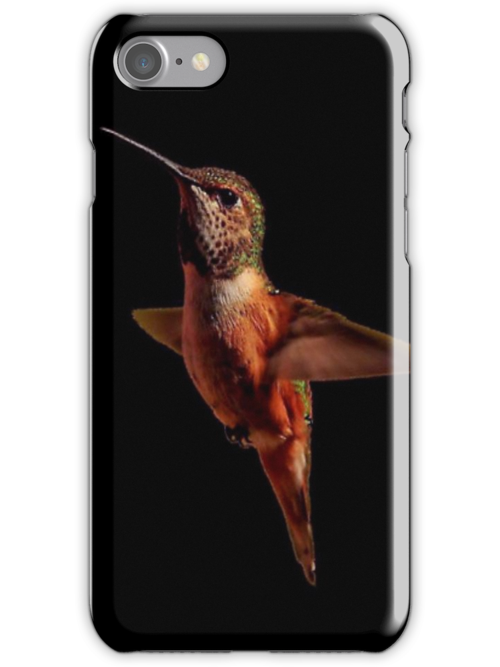 I MADE A SALE...HUMMINGBIRD...iPHONE CASE by RoseMarie747