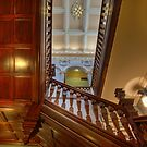 Customs House Staircase • Brisbane • Queensland by William Bullimore